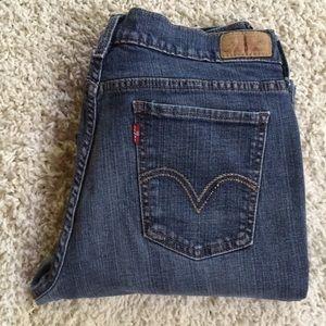 Levi's Jeans Women's Boot Cut 515 Size 12